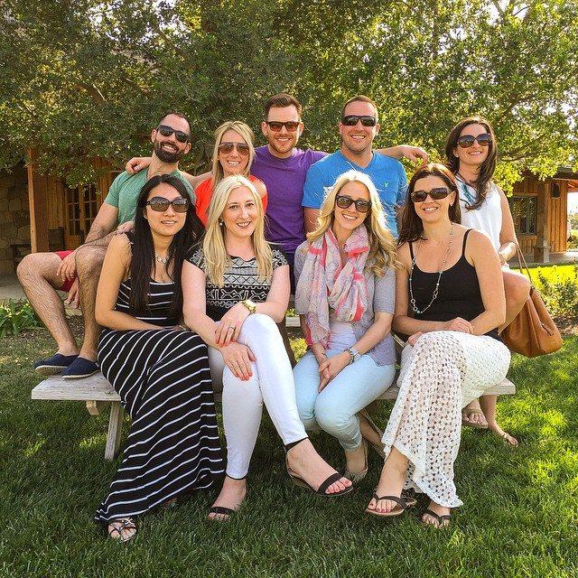 wine tour group