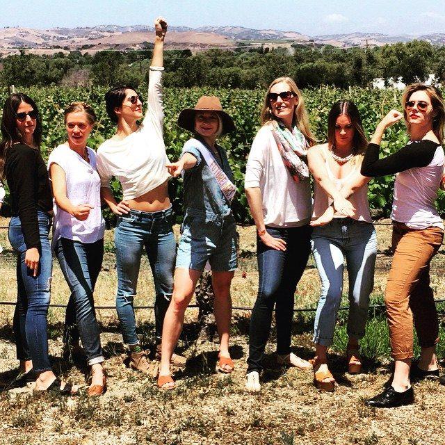 female wine enthusiasts